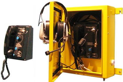 Thales Система безбатарейных телефонов  серии SPT9000
