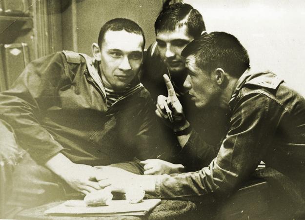 Бригада охраны МО СССР, 1972