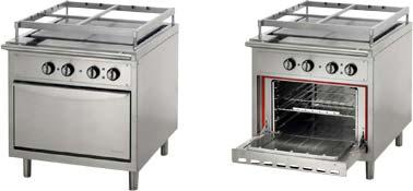 Судовые электрические плиты со сплошной нагревательной поверхностью
