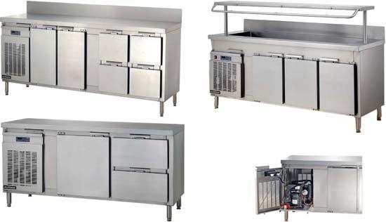 Холодильные столы морского исполнения