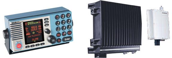 ПВ и ПВ/КВ радиоустановки SAILOR System 5000 150W / 250W / 500W MF/HF Thrane &Thrane
